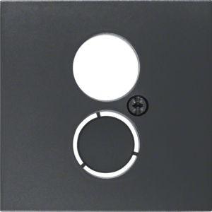 Berker - 11961606 - Zentralstück für Lautsprecher-Steckdose