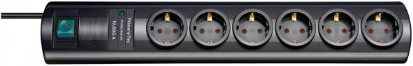 Brennenstuhl - 1153300456 - Überspannungsschutz-Steckdosenleiste Primera-Tec