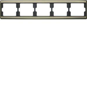 Berker - 13940001 - Rahmen 5-fach waagerecht Arsys