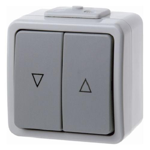Berker - 307525 - Jalousie-Wippschalter Aquatec