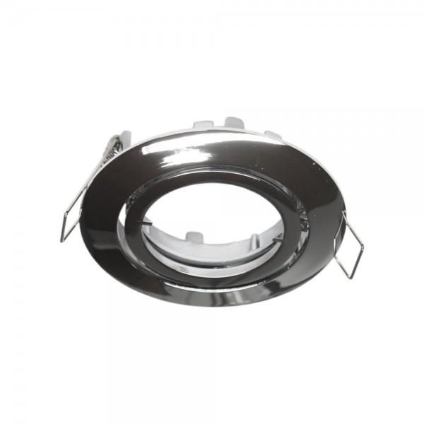 Rutec - ALU55374 - Einbaustrahler für MR16-Leuchtmittel chrom