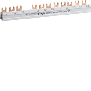Hager - KDN363F - Phasenschiene