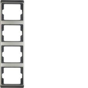 Berker - 13440004 - Rahmen 4-fach