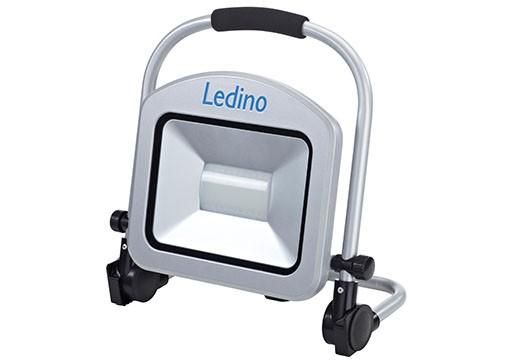 Ledino - 11160506006011 - LED-Standstrahler Charlottenburg 50W silber