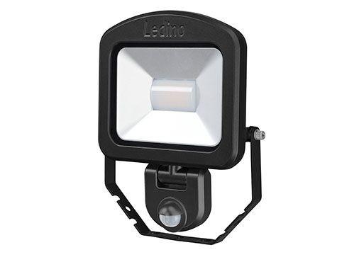 Ledino - 11120203006022 - LED-Strahler Charlottenburg mit Sensor 20W schwarz