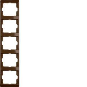 Berker - 13530001 - Rahmen 5-fach senkrecht Arsys
