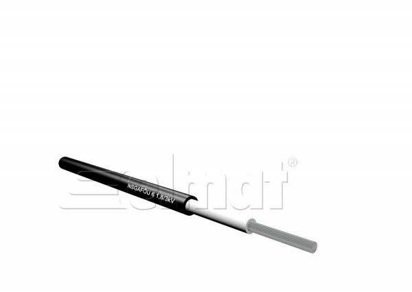 Elmat - 1052001-001 - 50m NSGAFOEU 1x1,5mm²