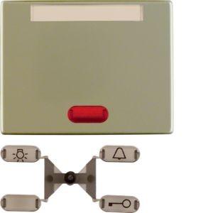 Berker - 14160201 - Kontroll-Wippe mit Beschriftungsfeld Arsys