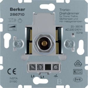 Berker - 286710 - Tronic-Drehdimmer