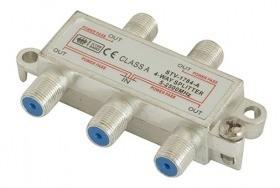 Dr.Sieger - STV-1784-A - SAT-Verteiler 4-fach