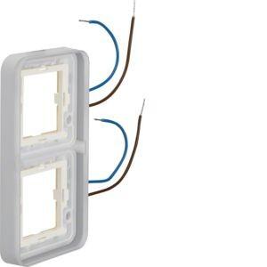 Berker - 13393512 - Rahmen 2-fach beleuchtet W.1
