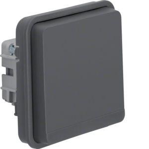 Berker - 47063515 - Steckdosen-Einsatz mit Klappdeckel und erhöhtem Berührungsschutz