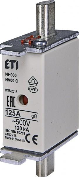ETI - 004182215 - Sicherung NH00 125A