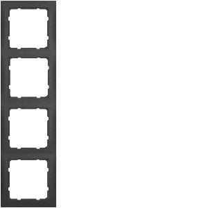 Berker - 10149949 - Rahmen 4-fach S.1
