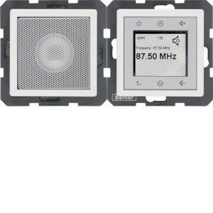 Berker - 28806089 - Radio Touch mit Lautsprecher Q.1/Q.3