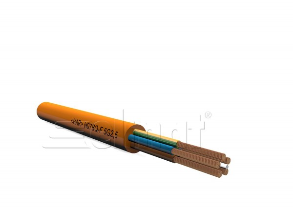 Elmat - 1060162-002 - 100m H07BQ-F 5x1,5mm²