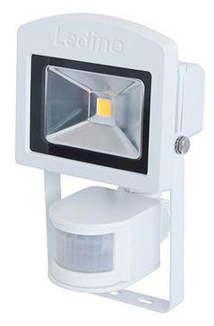 Ledino - 11120103001020 - LED-Strahler Dahlem mit Sensor 10W weiß
