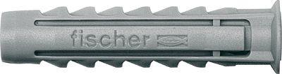 Fischer - 070006 - 100x Spreizdübel SX 6x30