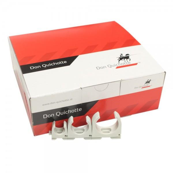 Don Quichotte - 981950_VPE - 50x Rohrschellen M25