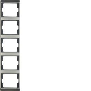 Berker - 13540004 - Rahmen 5-fach