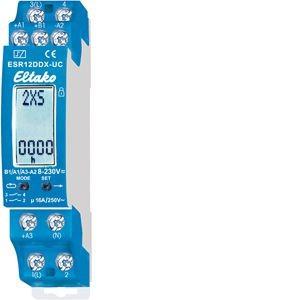 Eltako - 21200302 - Multifunktions-Stromstoß-Schaltrelais ESR12DDX-UC