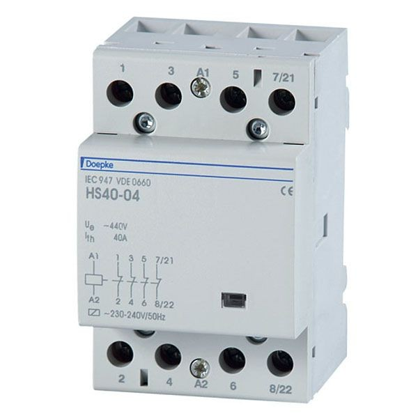 Doepke - 09980414 - Installationsschütz HS 3-230AC/40-40