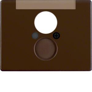 Berker - 11850001 - Zentralstück für Lautsprecher-Steckdose