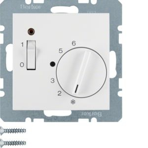 Berker - 20308989 - Temperaturregler mit Wippschalter