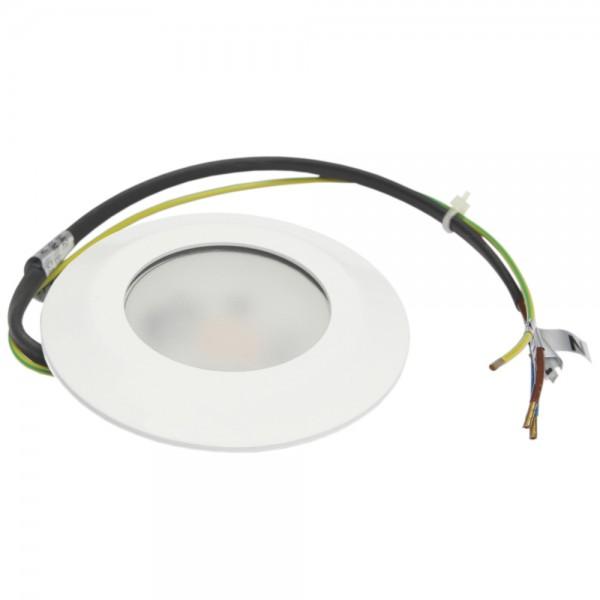 Rutec - LED54201WW-M - LED-Möbeleinbaustrahler LARA weiß