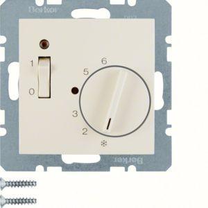 Berker - 20308982 - Temperaturregler mit Wippschalter