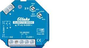 Eltako - 61100865 - LED-Dimmschalter ELD61/12-36V DC