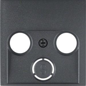 Berker - 12031606 - Zentralstück für Antennendose 2- und 3-Loch