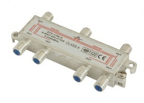 Dr.Sieger - STV-1786-A - SAT-Verteiler 6-fach