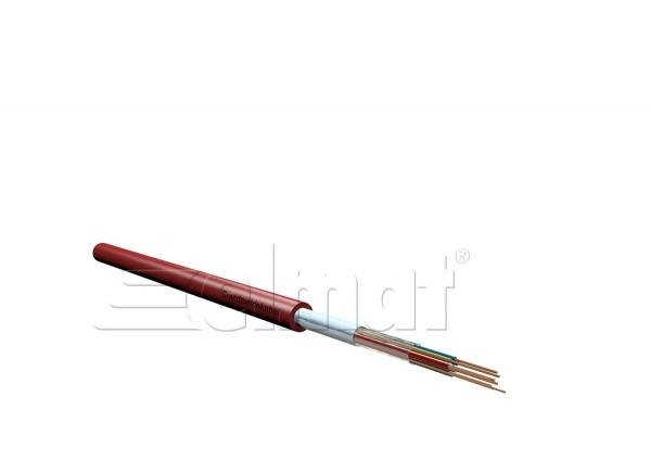 Elmat - 3200005-002 - 100m Brandmeldekabel 4x2x0,8 rot