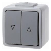 Berker - 507505 - Jalousie-Wipptaster Aquatec