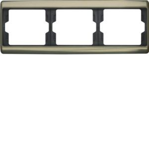 Berker - 13740001 - Rahmen 3-fach waagerecht Arsys