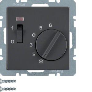Berker - 20306086 - Temperaturregler mit Wippschalter