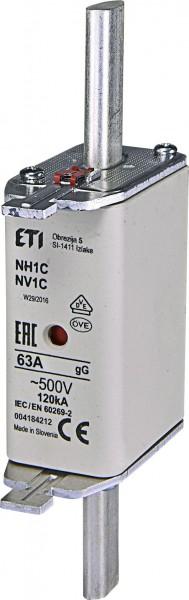 ETI - 004184212 - Schmelzsicherung NH1C 63A