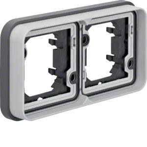 Berker - 13293505 - UP-Rahmen 2-fach waagerecht W.1