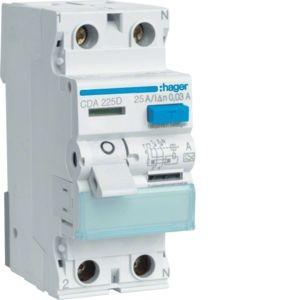 Hager - CDA225D - Fehlerstromschutzschalter