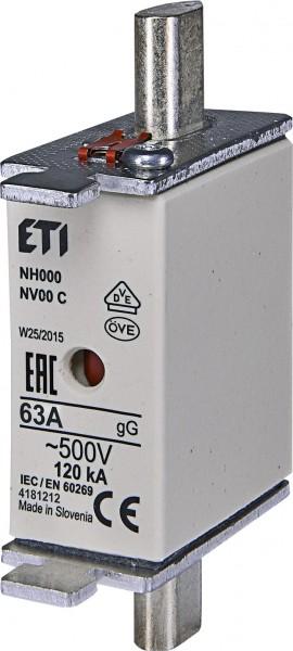ETI - 004181212 - Sicherung NH00C 63A