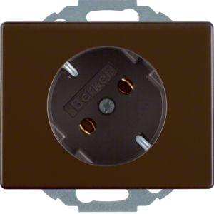 Berker - 47280001 - Steckdose 45° gedreht Arsys