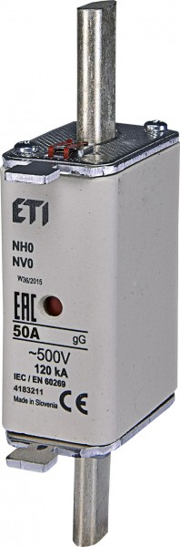ETI - 004183211 - Sicherung NH0 50A