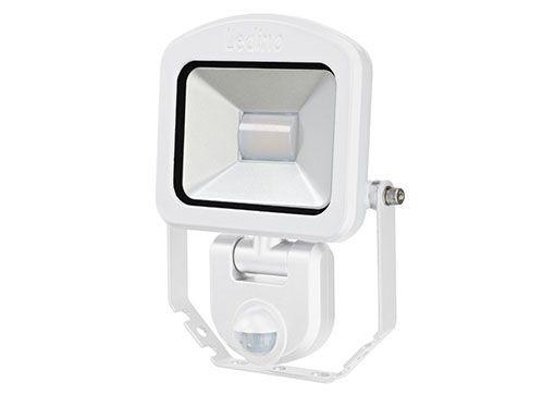 Ledino - 11120103006020 - LED-Strahler Charlottenburg mit Sensor 10W weiß