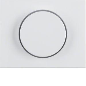 Berker - 11357009 - Zentralstück mit Regulierknopf für Drehdimmer