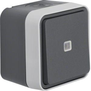 Berker - 30763525 - Wechselschalter beleuchtet