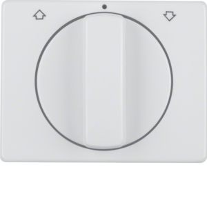 Berker - 10770069 - Zentralstück mit Drehknopf für Jalousie-Drehschalter