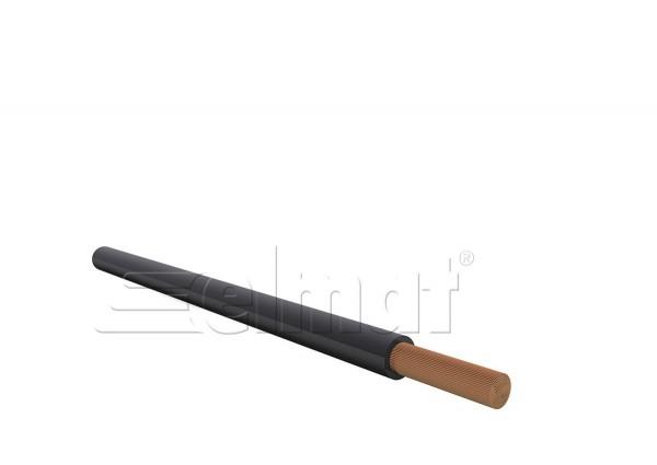 Elmat - 1045300-100-S - H07V-K 1x6mm² schwarz