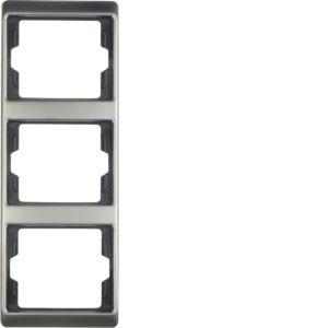 Berker - 13340004 - Rahmen 3-fach senkrecht Arsys