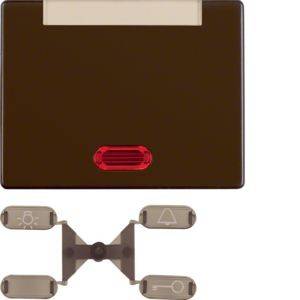 Berker - 14150201 - Kontroll-Wippe mit Beschriftungsfeld Arsys